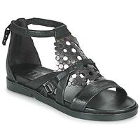 Čevlji  Ženske Sandali & Odprti čevlji Mjus KETTA Črna