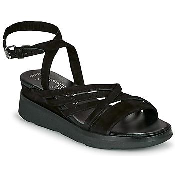Čevlji  Ženske Sandali & Odprti čevlji Mjus PLATITUAN Črna