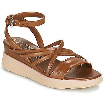 Čevlji  Ženske Sandali & Odprti čevlji Mjus PLATITUAN Kamel