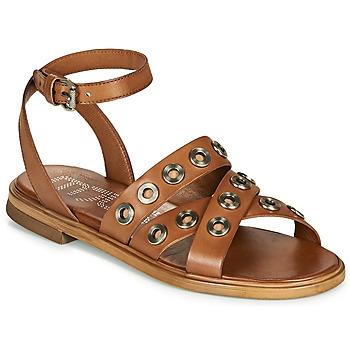 Čevlji  Ženske Sandali & Odprti čevlji Mjus GRAM Kamel