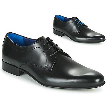 Čevlji  Moški Čevlji Derby Azzaro CRISTAN Črna