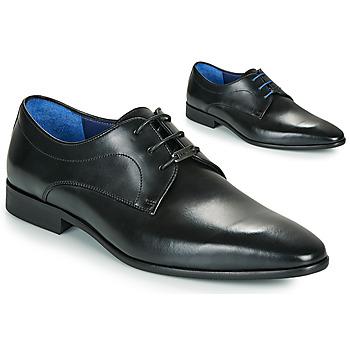 Čevlji  Moški Čevlji Derby Azzaro VILLAGE Črna