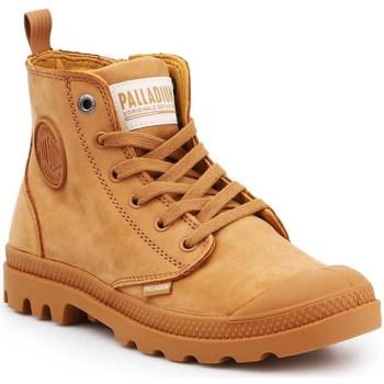 Čevlji  Ženske Visoke superge Palladium Manufacture Pampa HI ZIP NBK 96440-717-M brown