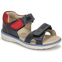 Čevlji  Dečki Sandali & Odprti čevlji Clarks ROAM SURF K Rdeča