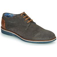 Čevlji  Moški Čevlji Derby Bugatti MELCHIORE Siva