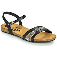 Čevlji  Ženske Sandali & Odprti čevlji Plakton MAM ALOU Črna