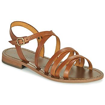Čevlji  Ženske Sandali & Odprti čevlji Dream in Green OBELLA Tan