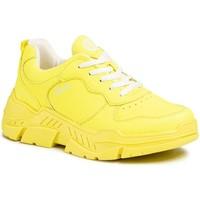 Čevlji  Ženske Nizke superge S.Oliver Neon Yellow Flat Shoes Yellow