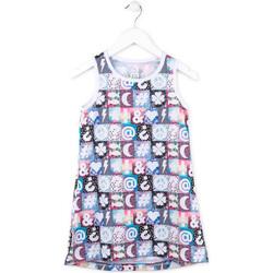 Oblačila Deklice Kratke obleke Losan 714 7001AB Roza