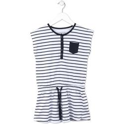 Oblačila Deklice Kratke obleke Losan 714 7044AB Modra