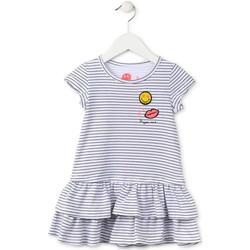 Oblačila Deklice Kratke obleke Losan 716 7065AD Modra
