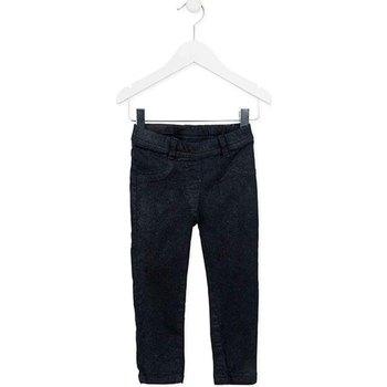 Oblačila Deklice Hlače s 5 žepi Losan 726 9000AD Modra