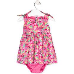 Oblačila Deklice Obleke Losan 018-7006AL Roza