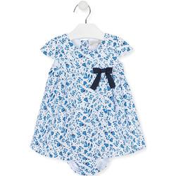 Oblačila Deklice Obleke Losan 018-7794AL Modra