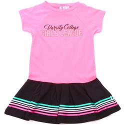 Oblačila Deklice Kratke obleke Melby 70A5705 Roza