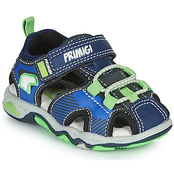 Čevlji  Dečki Športni sandali Primigi DINNO Modra / Zelena