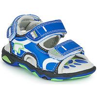Čevlji  Dečki Sandali & Odprti čevlji Primigi YANIS Modra / Zelena
