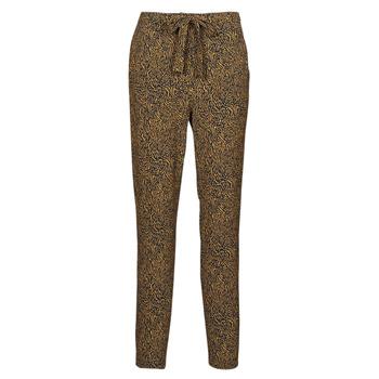 Oblačila Ženske Lahkotne hlače & Harem hlače Ikks BS22085-75 Kostanjeva