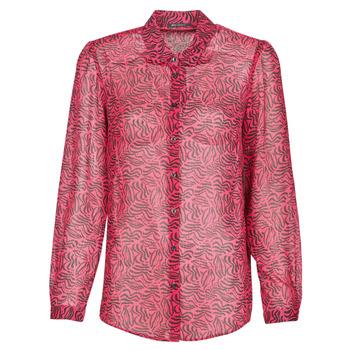 Oblačila Ženske Srajce & Bluze Ikks BS12155-38 Malina