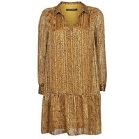 Oblačila Ženske Kratke obleke Ikks BS30195-75 Amber