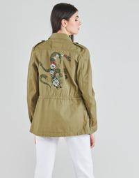 Oblačila Ženske Jakne & Blazerji Ikks BS41045-55 Zelena / Pacifique