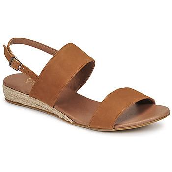 Čevlji  Ženske Sandali & Odprti čevlji Casual Attitude OLIVE Kamel