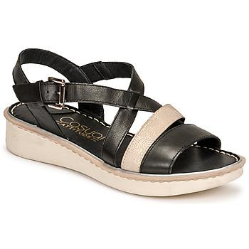 Čevlji  Ženske Sandali & Odprti čevlji Casual Attitude ODETTE Črna / Pozlačena