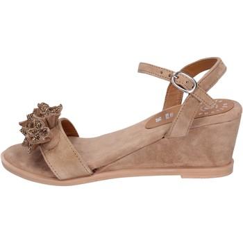 Čevlji  Ženske Sandali & Odprti čevlji Adriana Del Nista BK996 Rjav