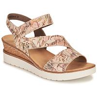 Čevlji  Ženske Sandali & Odprti čevlji Rieker CASSIE Večbarvna