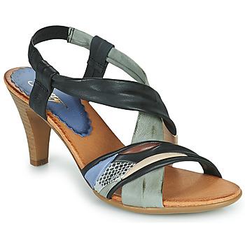 Čevlji  Ženske Sandali & Odprti čevlji Betty London POULOI Črna / Siva