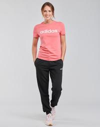 Oblačila Ženske Spodnji deli trenirke  adidas Performance W E PLN PANT Črna