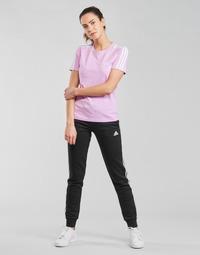 Oblačila Ženske Spodnji deli trenirke  adidas Performance W 3S FL C PT Črna