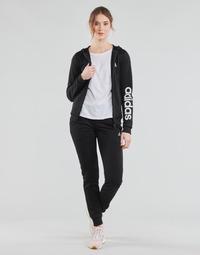Oblačila Ženske Trenirka komplet adidas Performance W LIN FT TS Črna