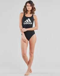 Oblačila Ženske Enodelne kopalke adidas Performance SH3.RO BOS S Črna