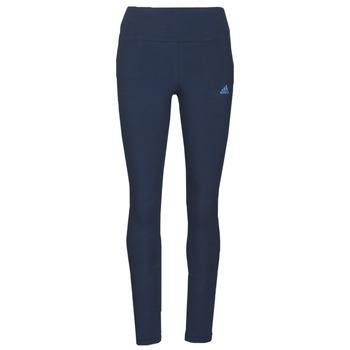 Oblačila Ženske Pajkice adidas Performance W LIN LEG Modra