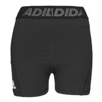 Oblačila Ženske Kratke hlače & Bermuda adidas Performance TF SHRT 3 BAR T Črna
