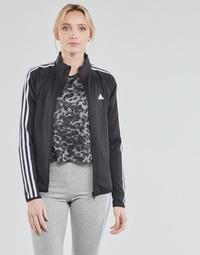 Oblačila Ženske Športne jope in jakne adidas Performance W 3S TJ Črna