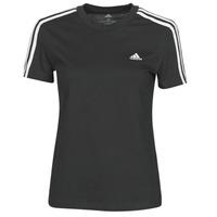 Oblačila Ženske Majice s kratkimi rokavi adidas Performance W 3S T Črna