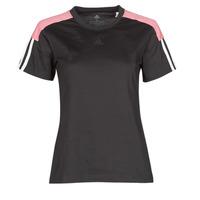 Oblačila Ženske Majice s kratkimi rokavi adidas Performance W CB LIN T Črna