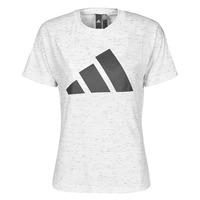 Oblačila Ženske Majice s kratkimi rokavi adidas Performance W WIN 2.0 TEE Bela
