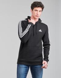 Oblačila Moški Puloverji adidas Performance M 3S FL HD Črna