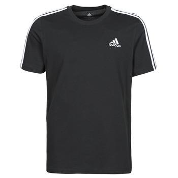Oblačila Moški Majice s kratkimi rokavi adidas Performance M 3S SJ T Črna