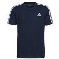 Oblačila Moški Majice s kratkimi rokavi adidas Performance M 3S SJ T Modra
