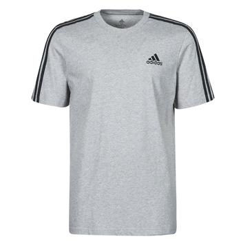 Oblačila Moški Majice s kratkimi rokavi adidas Performance M 3S SJ T Siva