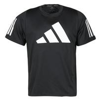 Oblačila Moški Majice s kratkimi rokavi adidas Performance FL 3 BAR TEE Črna