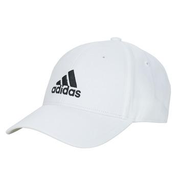 Tekstilni dodatki Kape s šiltom adidas Performance BBALL CAP COT Bela