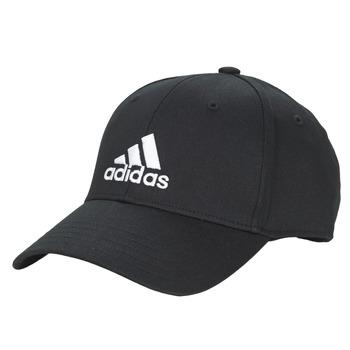 Tekstilni dodatki Kape s šiltom adidas Performance BBALL CAP COT Črna