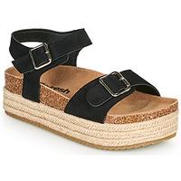 Čevlji  Ženske Sandali & Odprti čevlji Refresh KINNA Črna