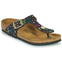 Čevlji  Deklice Japonke Birkenstock GIZEH Črna