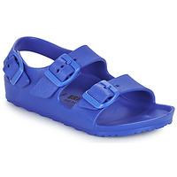 Čevlji  Dečki Sandali & Odprti čevlji Birkenstock MILANO EVA Modra